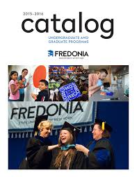 Catalog State University Of New York At Fredonia Smartcatalog Www