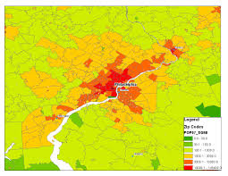 Trenton Zip Code Map by Is There A Best Way To Determine Comparative City Population