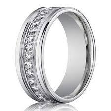 white gold eternity ring 4mm men s designer white gold diamond eternity ring channel set