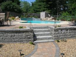 Stone Patio Images by Patios And Pools Ever Green Yards U0026 Stonescapes