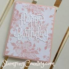 happy birthday gorgeous sneak peek stamping country