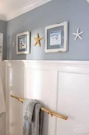 Coastal Bathroom Vanity Seaside Theme Bathroom Refresh Lowescreator Pretty Handy