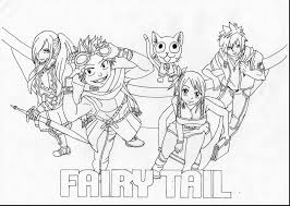 elegant fairy tail coloring pages 19 for coloring pages for adults