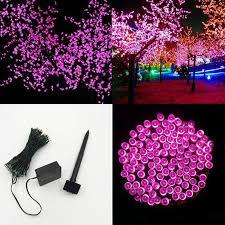 Festive Outdoor String Lights by Best 20m 200 Led Strap Light Solar String Led Garden Party Lights