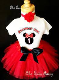 1st birthday tutu minnie mouse black ears baby girl 1st birthday tutu