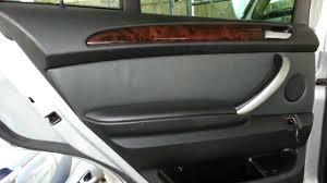 bmw door panel bmw e53 x5 rear door panel speaker inner handle removal
