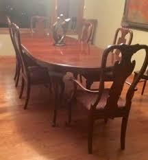 queen anne dining set ebay