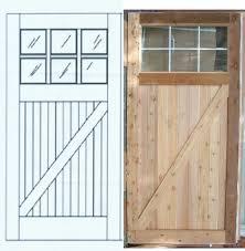 How To Install Barn Doors by How To Build A Barn Door Shop For Wooden Wheels For Diy Barn Door