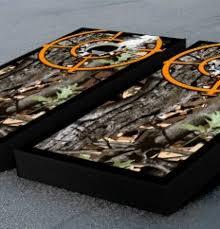 camouflage target boards bean bag toss game set by