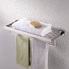Bathroom Shelves With Towel Rack Kes Bathroom Lavatory Bathroom Shelf Towel Rack