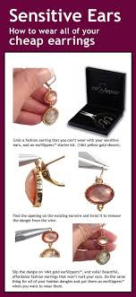 earings for sensitive ears earrings for sensitive ears earslippers are 14kt gold and