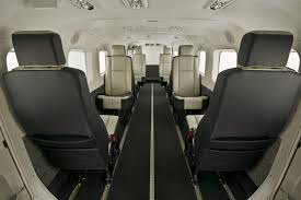textron inc cessna unveils new standard production interiors for