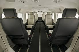 Designing Interiors Cessna Unveils New Standard Production Interiors For Caravan Series
