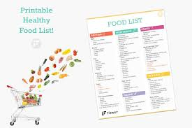 the ultimate healthy grocery list for when you want to eat clean