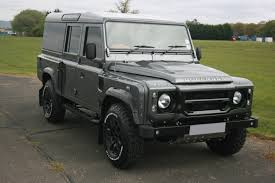 land rover track making dreams come true converting a 110 defender to the kahn