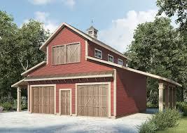 pole barn apartment plans plan 36056dk barn like 2 car workshop plan barn clerestory