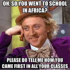 African Parents Meme - that nigerian kid