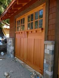 Barn Style Garages Looking More Closely At The Garage Doors The Strap Hinges And