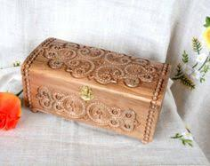 Personalized Wooden Boxes This Personalized Wooden Jewelry Box Is Hand Carved And Handmade