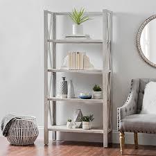 whitewash double shelf console table kirklands