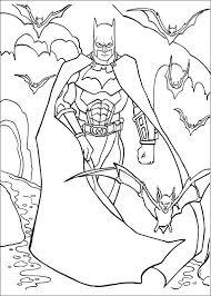 batman fargelegging barn tegninger utskrift og