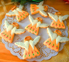 my cookie clinic christmas angel cookies wings