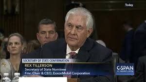 secretary state nominee rex tillerson testifies confirmation