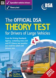 the official dsa theory test for drivers of large vehicles cd rom
