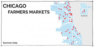 Englewood Chicago Map 2015 Chicago Farmers Market Maps By Day Moss Architecture