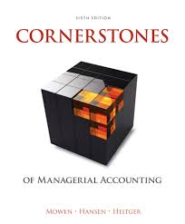 cornerstones of cost management 9781305970663 cengage