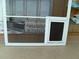 Sliding Glass Door With Dog Door by Patio Doors Doggie Door For Patio Slider Dog Screen Sliding Best