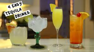 birthday tequila four easy tequila drinks youtube