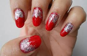 diy u2013 easy glitter nail arts