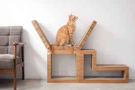 Cool Cat Scratchers This Modular Furniture Works For Humans U2014and Cats Curbed