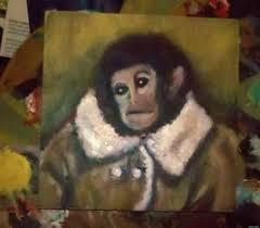 Monkey Jesus Meme - ikeas homonkulus ikea monkey painting channels botched fresco jesus