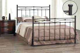 King Metal Headboard Iron Bed Frames Canada Black Metal Headboard King Metal Bed Frame