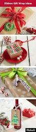 use ribbon to create unique adorments for your presents learn how
