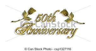 50 wedding anniversary 50th wedding anniversary illustrations and clip 349 50th