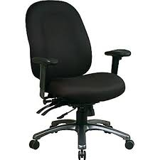 Office Star Computer Desk by Office Star Fabric Computer And Desk Office Chair Black