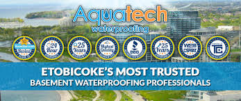 basement waterproofing etobicoke aquatech waterproofing