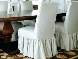 pier 1 chair slipcovers parson chair covers dining room chair slipcovers awesome decorating