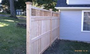 cedar privacy styles by protection fence company