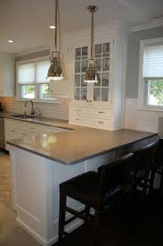 Kitchen Peninsula Lighting Kitchen Peninsula Transitional Kitchen William Design