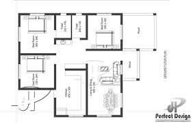3 bhk single floor contemporary home at 1044 sq ft interior home