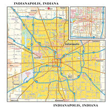 Metro North Maps by Indianapolis Metro Wall Map Maps Com