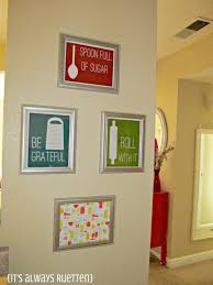 decoration ideas for kitchen walls top 59 out of this kitchen wall decor ideas paintings