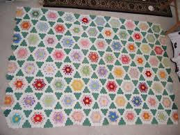 grandmother u0027s garden quilt love thar green quilting