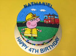 minecraft fire truck peppa pig cakes singapore you favorite character on cake