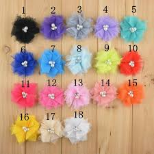 flowers for headbands aliexpress buy wholesale 2 inch fabric flowers for headband