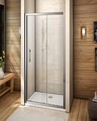bathroom on a budget 6mm 1200 sliding shower enclosure